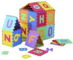 HOMCOM 26 tlg Puzzlematte Spielmatte Bodenschutzmatte EVA Alphabet Matte Spielmatte Bodenschutzmatte Bodenmatte