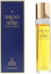 Elizabeth Taylor Eau De Toilette Diamonds & Sapphires 100 ml - Voor Vrouwen