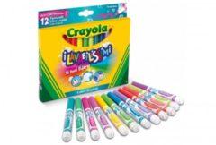 Pennarelli i lavabilissimi punta maxi colori tropicali 12 pezzi Crayola