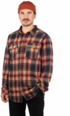 Beige Dravus Jubal Flannel Shirt patroon