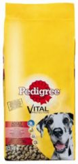 Pedigree Vital Protection Adult Maxi - Rund en rijst - Hondenvoer - 15 kg