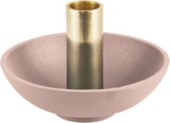 Roze Present Time (Pt,) Candle holder Nimble tub aluminium blush pink
