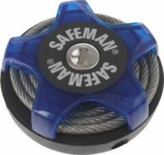 Safeman Kabelslot Multifunctioneel 750 X 4 Mm Blauw