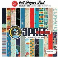 "Carta Bella: Space Academy Paper Pad 6x6"" (CBSA61015)"