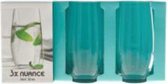 Nuance Longdrinkglazen | waterglazen | 3 Stuks | Water Glass | Waterglas | Beker | 36cl.12