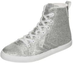 HUMMEL SPORT Hummel Teamsport Strada Glitter JR Sneaker Kinder, silber/weiß
