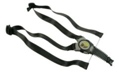 Qibbel gordelsysteem voor Qibbel achterzitje QS107 zwart/grijs