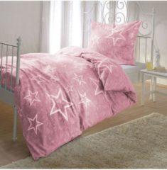 Sterne Bettwäsche Rosenquarz Bettwaren-Shop rosenquarz