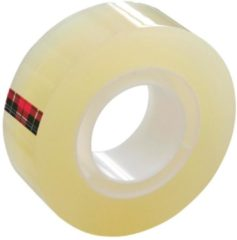 3M 5501933 7100029315 Plakband Scotch 550 Transparant (l x b) 33 m x 19 mm 8 stuk(s)