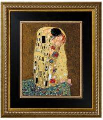 Der Kuss Wandbild Artis Orbis Goebel Bunt