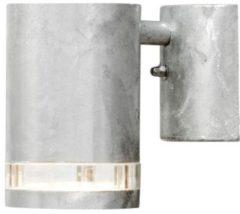 Roestvrijstalen Konstsmide Modena - Wandspot neerw triade-strip - 230V - GU10 - zink