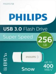 Witte Pioneer Philips Flash Drive Snow Edition 256GB, USB3.0