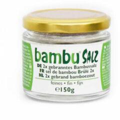 Bambu Salz Bamboezout fijn 2x gebrand 150 Gram