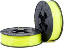 Gele PLA 1,75mm yellow fluor 0,75kg - 3D Filament Supplies