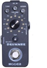 Mooer Micro Drummer drummachine-pedaal