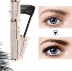 Gouden VIVELY Subsky Mascara 4D Dames Waterdicht Krachtig Lang Krullend Wimperverlenging Langdurige Make-up Dikkere Mascara Vlekbestendig Zwart