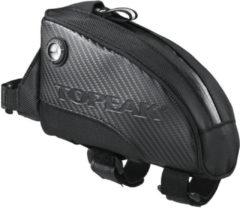 Zwarte Topeak Fuel tas voor op bovenbuis (M) - Bovenbuistassen