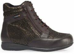 Bruine Hoge Sneakers Calzamedi BOOTS DIABETICS SCALES W