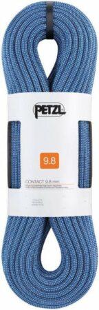 Afbeelding van Petzl Contact 9.8mm soepel en licht enkeltouw 70m Groen