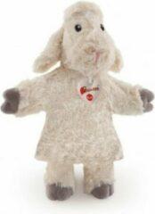 Witte Trudi Handpop Lammetje 30cm