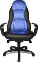 Topstar Chefsessel Speed Chair, Lederoptik blau