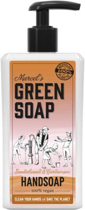 Afbeelding van Marcel's Green Soap Marcel's groen Soap Handzeep Sandelhout & Kardemom (500ml)