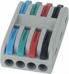 Rode Showgear LED Cable connector 4 aderig - 94001(Verpakking 10 stuks)