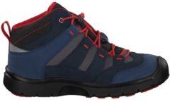 Schuhe Hikeport Mid 1018000 mit Schnellschnürsystem Keen DRESS BLUES/FIREY RED