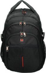 "Zwarte Enrico Benetti Cornell Laptop Rugtas 15.6"" black Laptoprugzak"