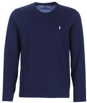 Afbeelding van Blauwe T-Shirt Lange Mouw Polo Ralph Lauren L/S CREW-CREW-SLEEP TOP