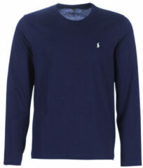 Blauwe T-Shirt Lange Mouw Polo Ralph Lauren L/S CREW-CREW-SLEEP TOP