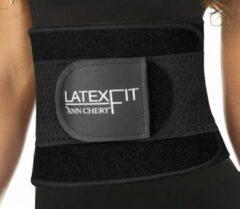 Ann Chery – Latex Fitness Gordel - Extra ondersteunend - Zwart - Maat 3XL (kledingmaat 44/46)