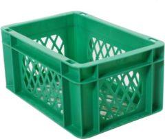 Merkloos / Sans marque Transport bagage krat mini (groen) - Fietsmand