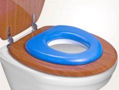 Blauwe Reer wc-verkleiner zacht