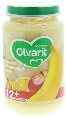 Olvarit Banaan Sinaasappel Koek 12+ Maanden (1 Potje van 200g)