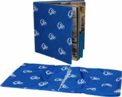 Blauwe Simply products Elastische Boekenkaft Gio