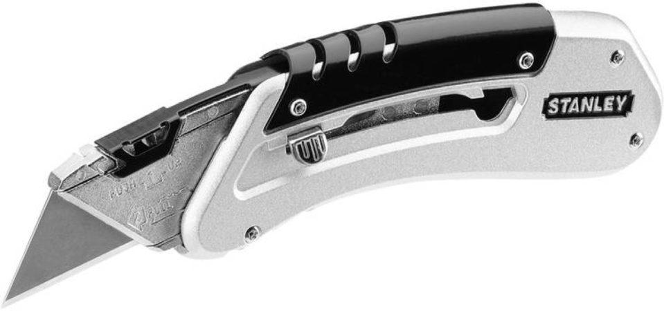Afbeelding van Stanley mes, mesvorm recht, totale le 145mm, uitschuifbaar, handvat met