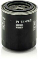 MANN FILTER Oliefilter W814 / 80