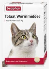 Beaphar Wormmiddel Totaal Kat - Anti wormenmiddel - 10 stuks < 5 Kg