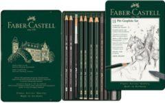 Faber-Castell Faber Castell Grafietset Pitt, 11-delig.