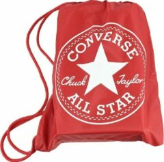 Converse Cinch Bag 3EA045C-600, Unisex, Rood, Sporttas maat: One size