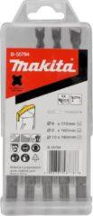 Makita Hamerborenset 5-delig SDS+ in Cassette B-55784 - 6/8/10x110 en 160 mm