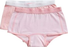Ten Cate - Meisjes - 2-Pack Shorts Mint - Roze - 134/140