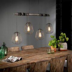 Grijze Easy Furn Hanglamp Finley