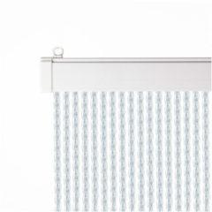 Huis, tuin en tafelzeil Alcampo luxe transparant PVC deurgordijn / vliegengordijn (93x230cm)