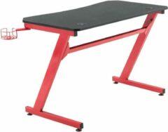 Clp Hayward Computertafel - Zwart/rood