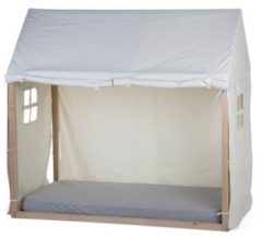 Childhome - TIPI BEDFRAME COVER 70X140 WIT