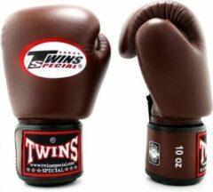 Donkerbruine Twins Special - (kick)bokshandschoenen - BGVL3 - Dark Brown - 10oz