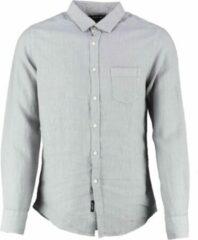 Replay grijs linnen overhemd - Maat M