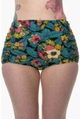 Dancing Days Bikinibroekje -XL- TWILIGHT Zwart/Multicolours